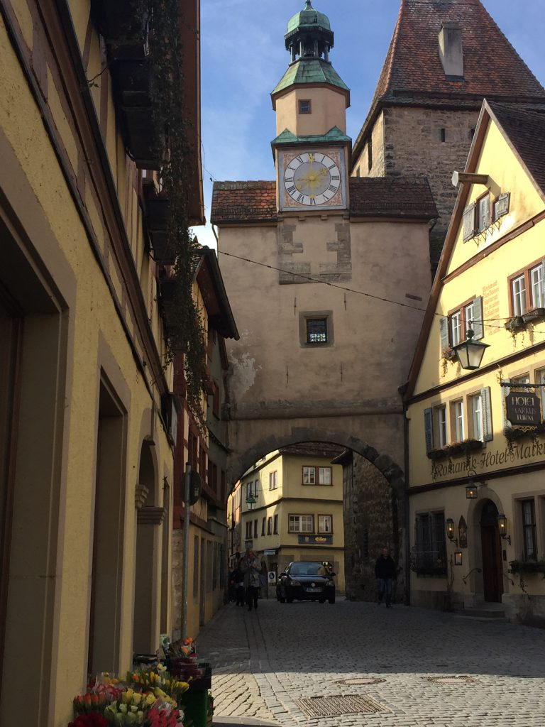 Rothenburg ob der Tauber old town || Rothenburg ob der Tauber historisches Tor