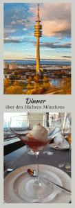 Candle Light Dinner über den Dächern Münchens, mit freundlichen Grüßen von Mamunche