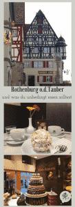 Schneebälle in Rothenburg o.d. Tauber, beste Grüße von Mamunche