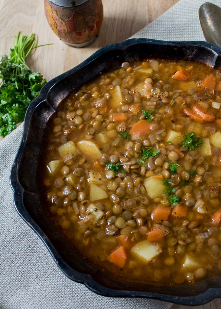домашна Супа от леща