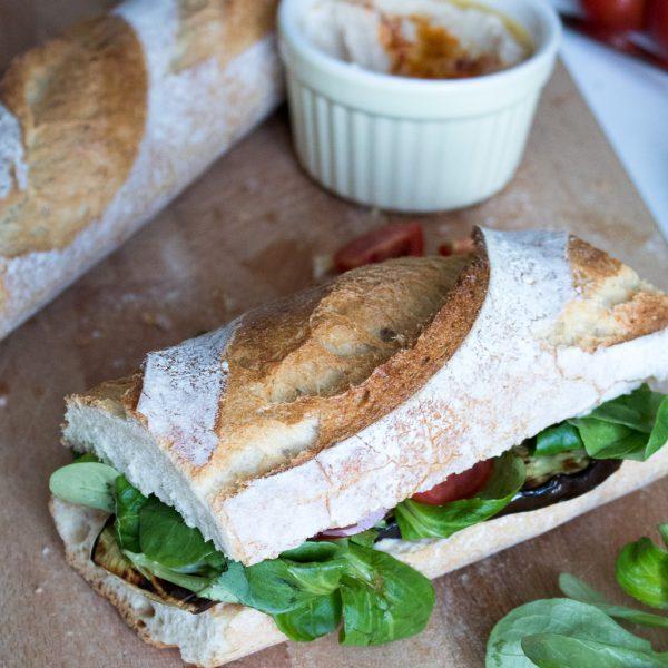 Auberginen Sandwich