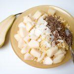 Birnen Frühstück
