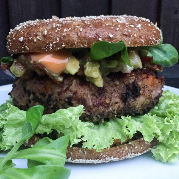 веган бургер от червен боб I Veganer Bohnen Burger