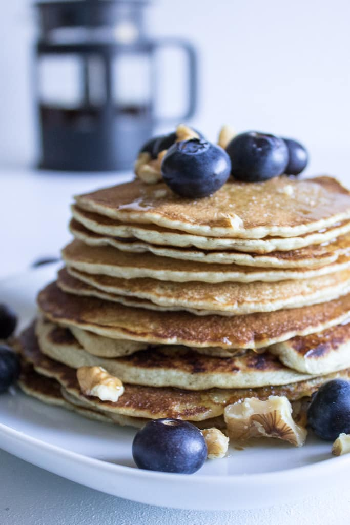 Mini Vegan Pancakes |