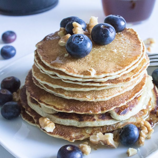 Vegan Pancakes | Vegane Pfannkuchen
