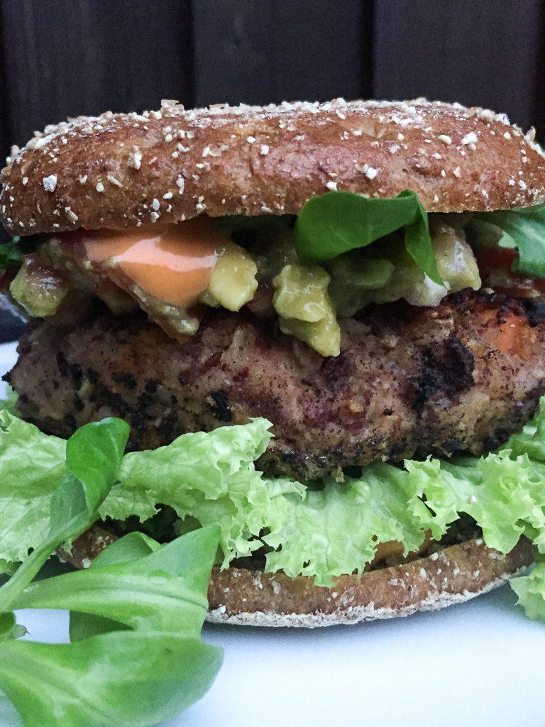 Vegan Kidney Bean Burger