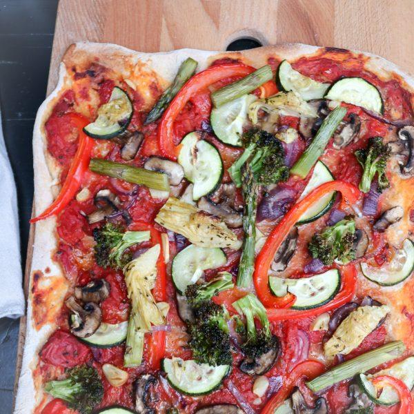 Veggie Gemüse Pizza