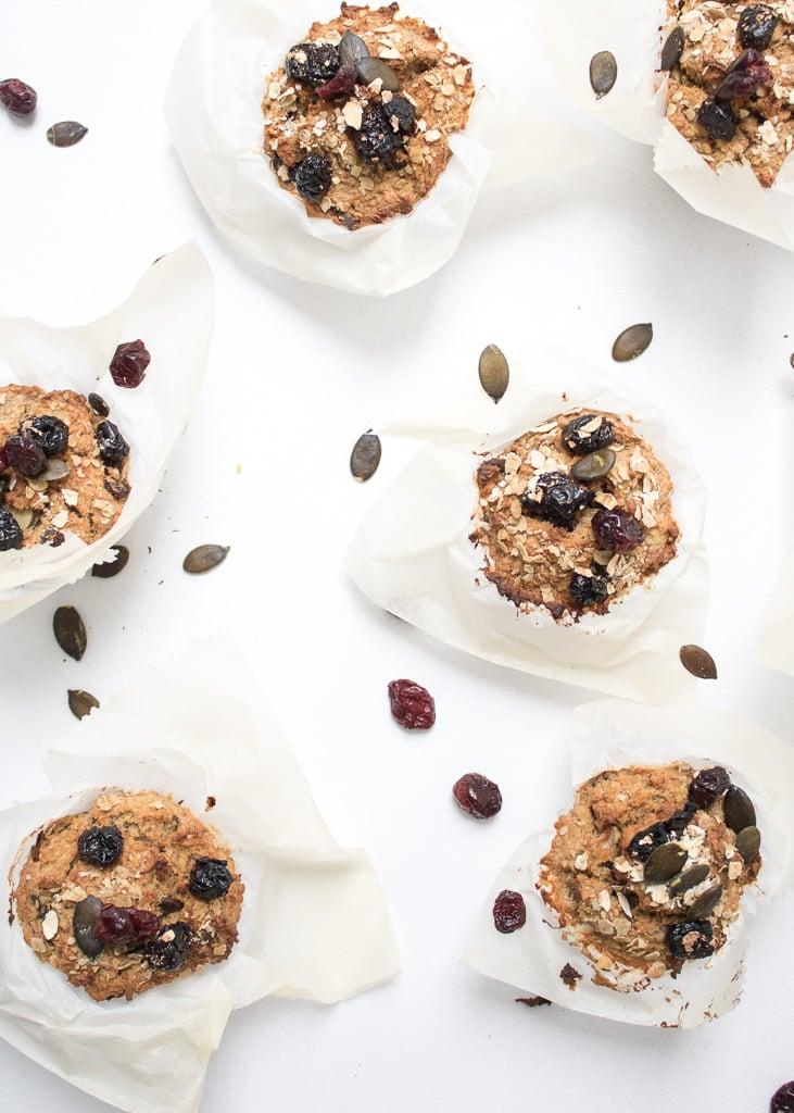 || Muffins mit Haferflocken und Banane