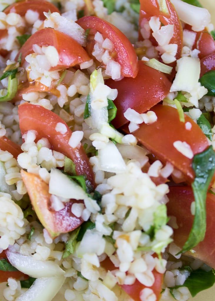 Tabbouleh Salad with Bulgur |Салата Табуле с булгур | Taboulé Salat mit Bulgur