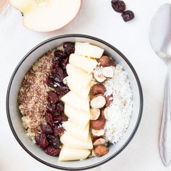 Quinoa Frühstücks Schüssel