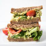 Kichererbsen Avocado Sandwich