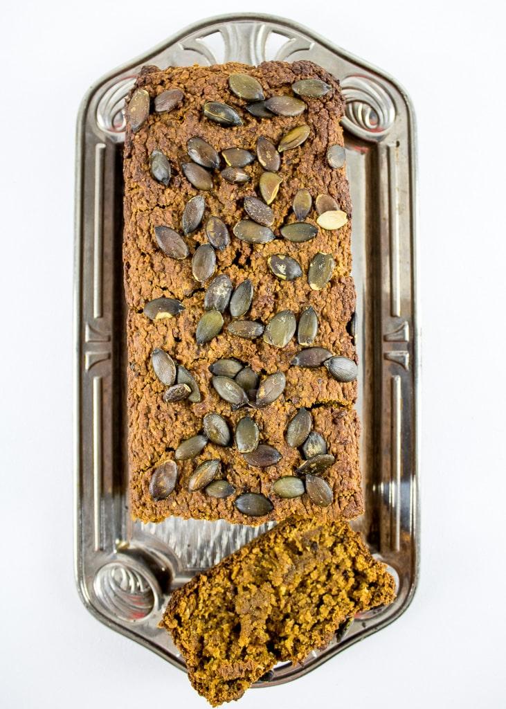 Spiced Pumpkin Bread || Veganer Kürbis Kuchen