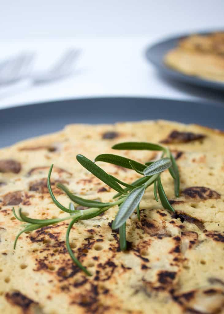 Socca Pancakes ||Socca Pfannkuchen