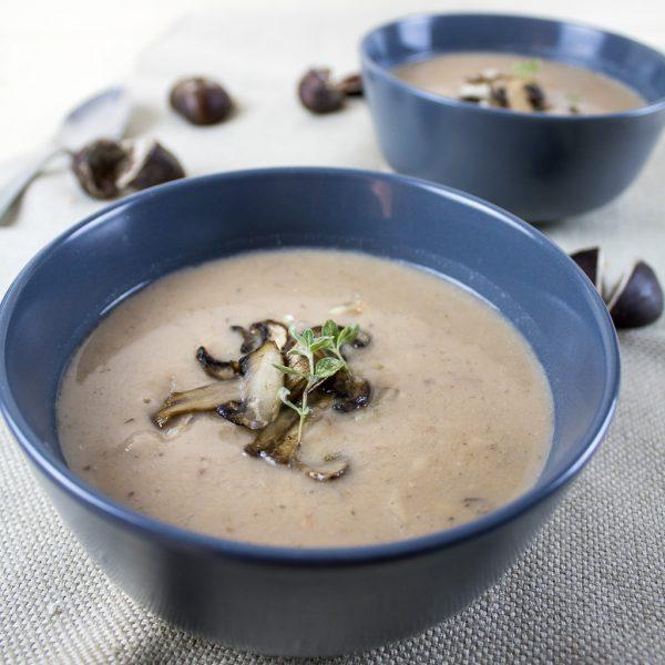 Kastanien Suppe