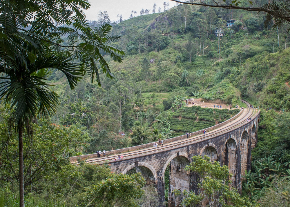 Nine Arch Bridge, Ella, Sri Lanka | Мостът с деветте арки, Елла, Шри Ланка