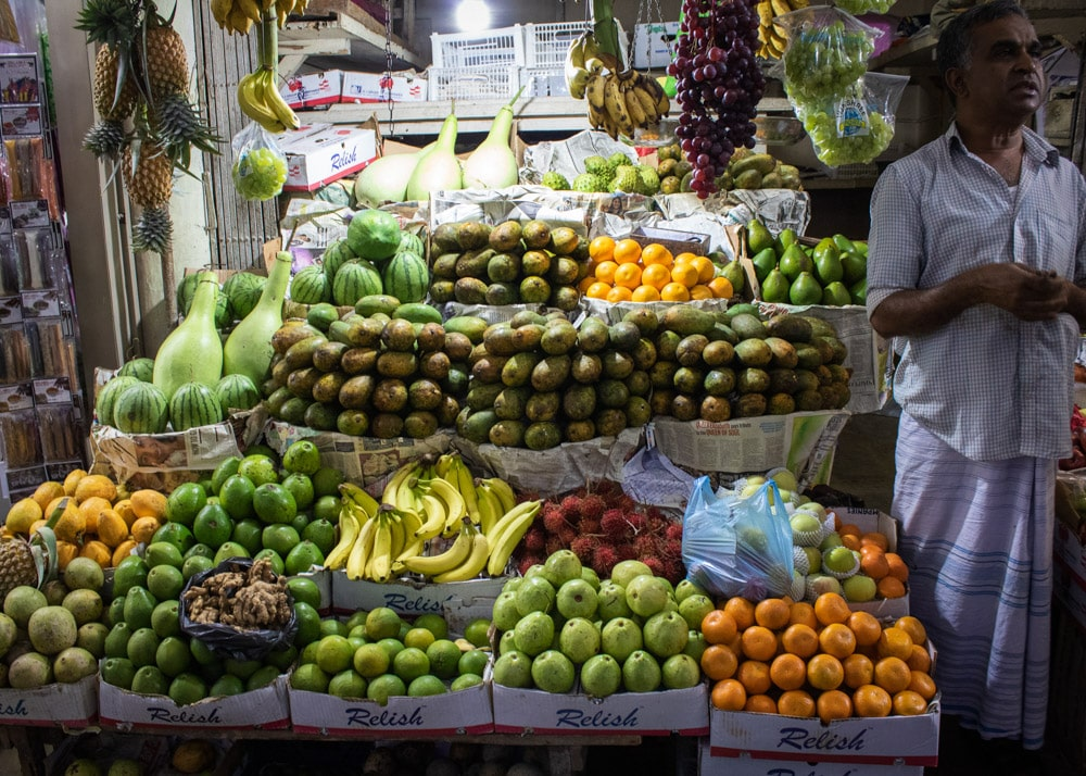 The Market, Kandy, Sri Lanka