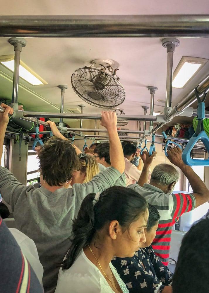 Train from Kandy to Ella, Sri Lanka   Влак от Канди до Елла, Шри Ланка